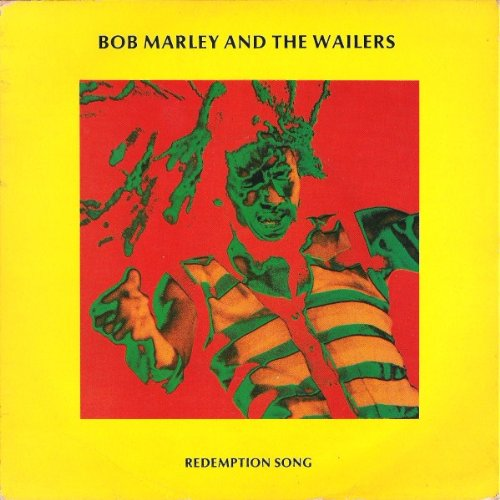Redemption Song / Redemption Song (Band Version) & I Shot The Sheriff (Recorded Live) - Bob Marley & The Wailers - UK Pressing [45rpm 12