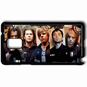 Personalized Samsung Note 4 Cell phone Case/Cover Skin Amatory Group Members Rockers Photos Black