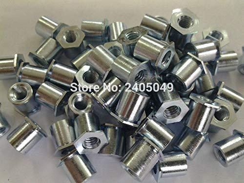 Nuts TSO-6440-375 Thin Head Threaded standoffs, Carbon Steel, Plating zinc,PEM Standard,in Stock,