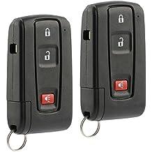 Car Key Fob Keyless Entry Remote fits Toyota 2004-2009 Prius (MOZB21TG, 2584A-B21TG, 89070-47180), Set of 2