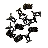 Amgate 100 PCS Plastic Plant Clips for Orchid & Phalaenopsis