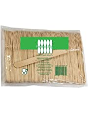"""Perfect Stix Wooden Disposable Cutlery Knifes 6"""" Length (Pack of 100ct)"""