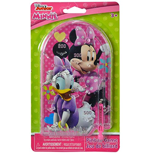 - Disney Minnie Mouse Handheld Pinball Game Travel Toy