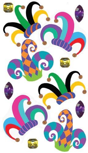Ek Success Adhesive (EK Success Brands Jolee's Boutique Decorative Stickers, Jester Hats Dress Ups)