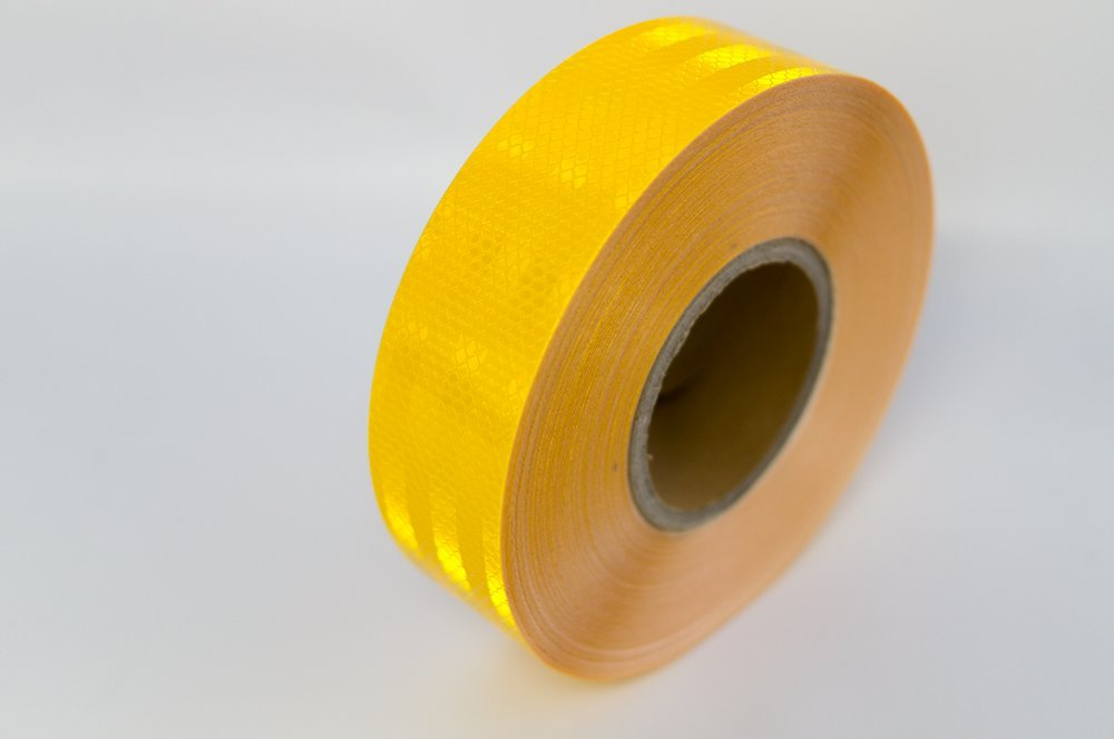 Reflective Tape Roll (Yellow)