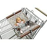 Shopping Cart Hammock for Baby Cart Cover for Newborn Covers Foldable Safe Seat for Infant