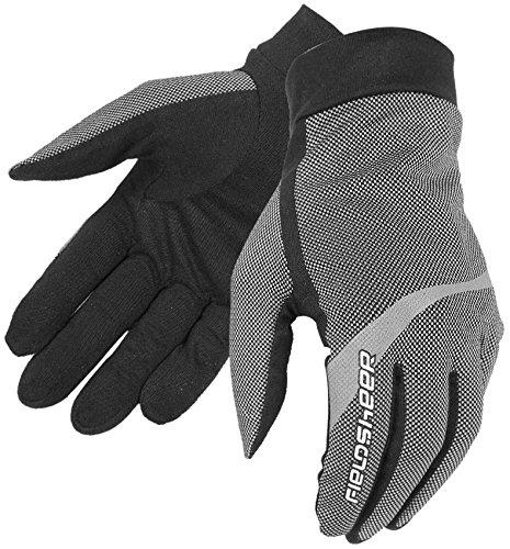 Fieldsheer Standard Men's Liner On-Road Racing Motorcycle Gloves - Gray / X-Small
