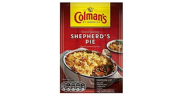 Receta de la empanada Mix 50g del Pastor de Colman (paquete de 12 x 50 g): Amazon.es: Alimentación y bebidas
