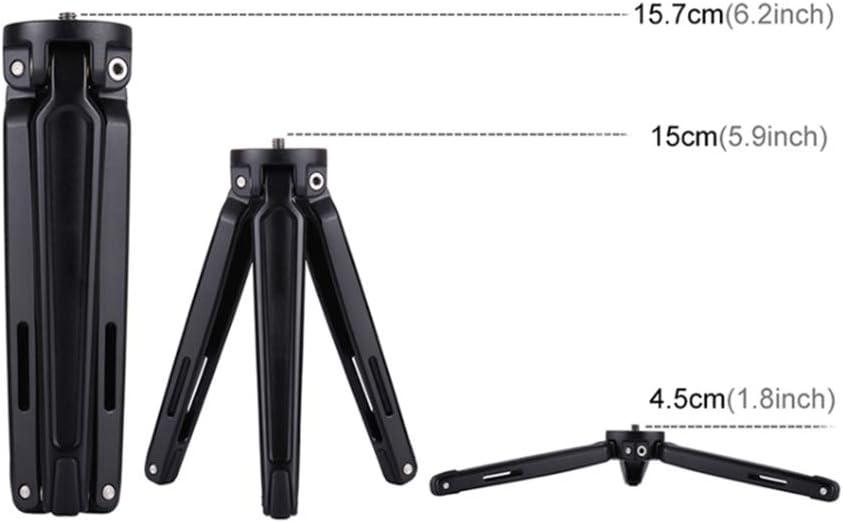 Fotga Aluminum Mini Desktop Table Tripod Stand Stabilizer Handheld Grip with 1//4 Screw for Smartphone Gopro DSLR Camera Webcam Project,Monopod,Audio Recorder Video,MAX Load 20KG
