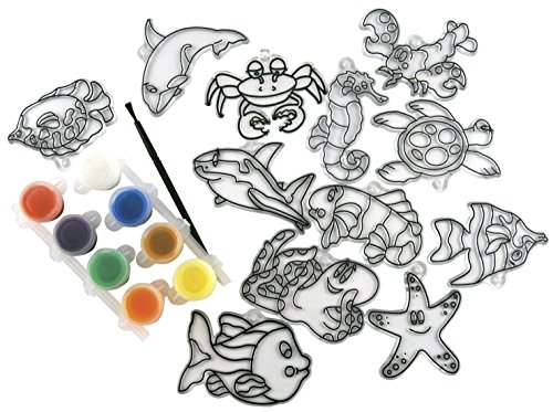 (Kelly's Craft School Specialty Suncatcher Group Pack, 3 - 3-1/2 in, Pack of 12 - 408996)