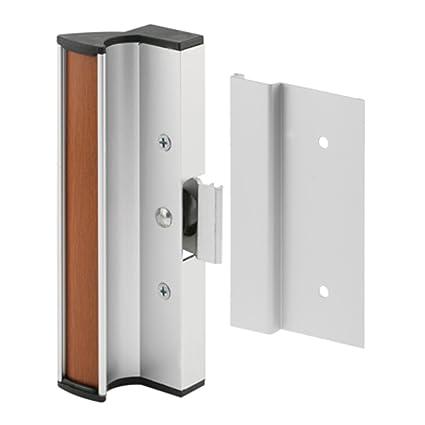 Crl Aluminum Clamp Style Surface Mount Sliding Glass Door Handle 3