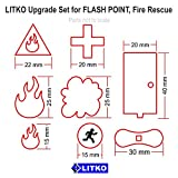 LITKO Upgrade Set for Flash Point, Fire Rescue (128)