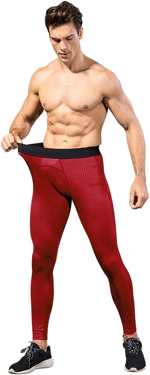 DRSKIN Men Compression Pants Under Base Layer Athletic Work Out Long Legging GYM