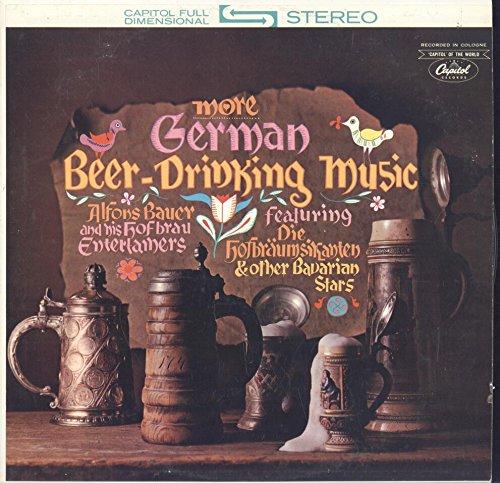 (Alfons Bauer and his Hofbrau Entertainers: More German Beer-Drinking Music LP VG++)
