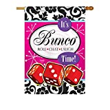 Cheap Breeze Decor – It's Bunco Time! Interests – Everyday Hobbies Impressions Decorative Vertical House Flag 28″ x 40″ Printed In USA