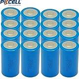 D Cell Battery 3.6V ER34615 19000mAh Lithium Battery 20Pcs