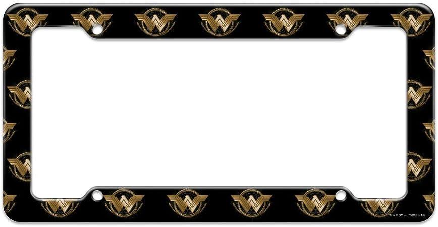 Graphics and More Wonder Woman Wonder Woman Icons Logo Novelty Metal Vanity Tag License Plate