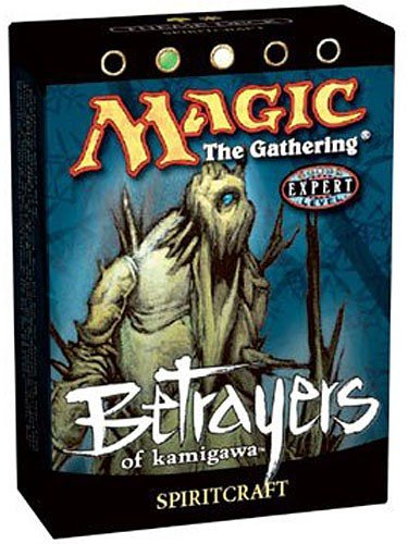 Magic the Gathering MTG Betrayers of Kamigawa Spiritcraft Theme Deck