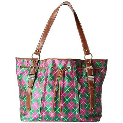 4c7aecbe7cd1 Sydney Love Argyle Drawstring Tote Shoulder Bag lovely - smo.rs