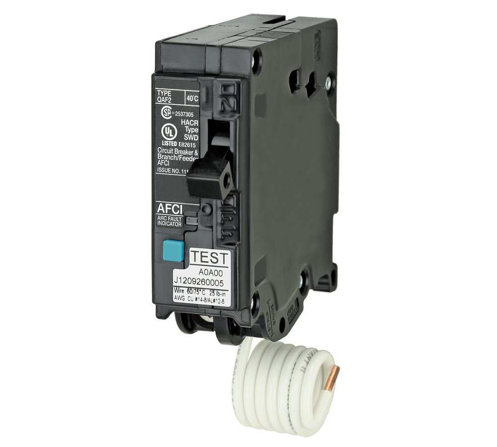 Murray Murray, 15 Amp, Single Pole, 120 Volt, 22,000 AIC, Plug On, Combination AFCI Breaker