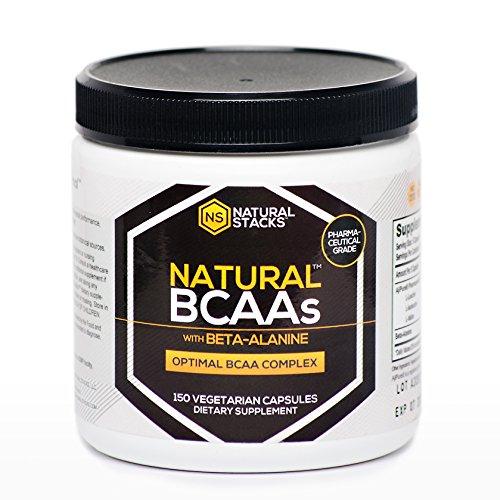 Capsules BCAA naturelles avec Beta-alanine - Pour Muscle Building, l'endurance musculaire et la prévention de la fatigue - 2: 1: 1 de qualité pharmaceutique chaîne Direction Acides aminés - provenant de différentes sources naturelles botaniques - blanchi