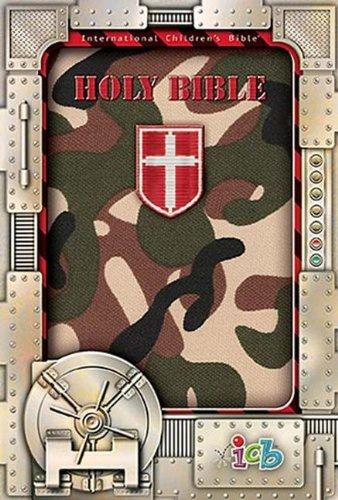 Compact Kids Bible Green Camo