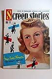 Screen Stories Magazine; March 1954, MISS SADIE THOMPSON, Rita Hayworth on Cover Articles: the WILD ONE, Marlon Brando, Mary Murphy; the GLENN MILLER STORY, James Stewart, June Allyson