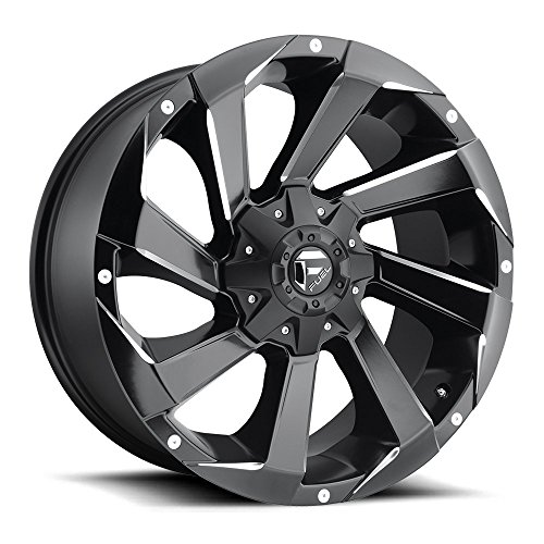 Fuel Razor black Wheel with Painted Finish (18 x 9. inches /6 x 135 mm, 20 mm Offset) American Racing Razor Wheels