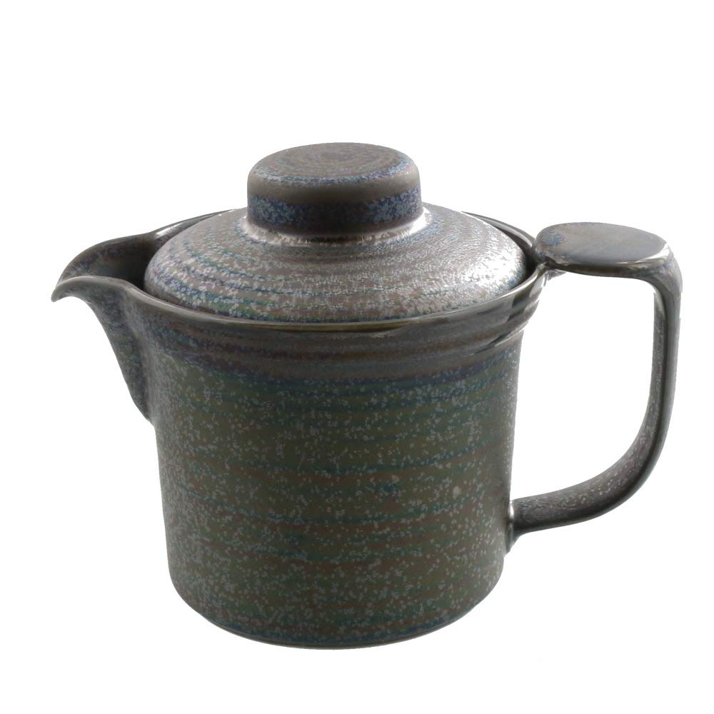 Zen Table Japan Stylish /& Functional 13.5 oz Wide Mouth Teapot with Infuser Silver Made in Japan
