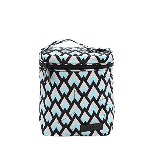 - JuJuBe Fuel Cell Reusable/Insulated Bottle Bag and Lunchbox, Onyx Collection - Black Diamond