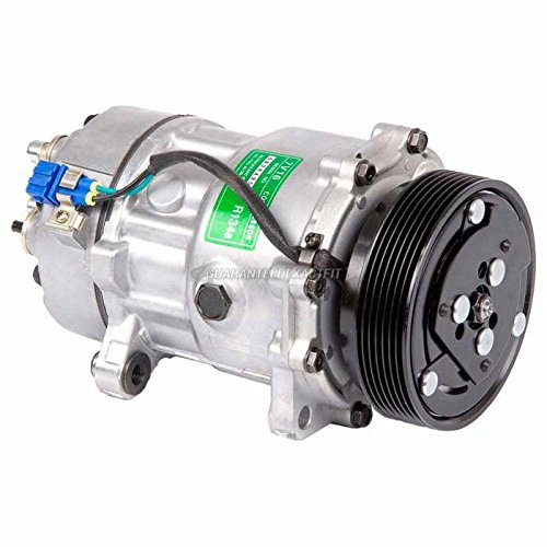 AC Compressor & A/C Clutch For VW Golf & Jetta - BuyAutoParts 60-01477NA NEW