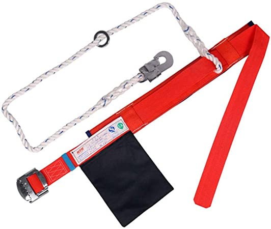 JKHOIUH Productos al Aire Libre Arnés de Cintura Simple Único ...