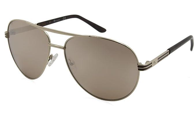 GUESS - Lunettes de soleil - Homme gris gris  Amazon.fr  Vêtements ... bef79f365f31