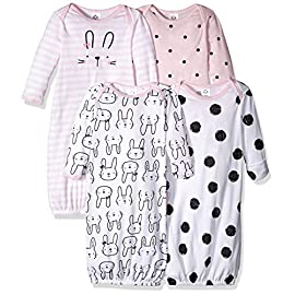 GERBER-Baby-Girls-4-Pack-Gown