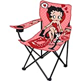 Innovent Brands Betty Boop Puppy Love Camping Camp Folding Portable Chair