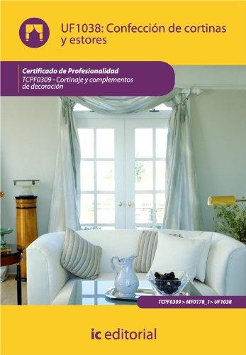 Descargar Libro Confección De Cortinas Y Estores Innovación Y Cualificación