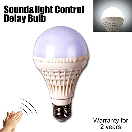 E27 Sound Light Control Led Bulb Lights 3w 5w 10w SMD5050 Led Lamp Voice Activated Intelligent Motion Automatic Smart Detection Led Sensor Global Corridor Stairway Washroom Lamp Delay Switch