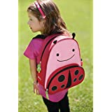Skip Hop Zoo Little Kid and Toddler Backpack, Ages 2+, Multi Livie Ladybug
