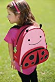 Skip Hop Zoo Toddler Kids Insulated Backpack Livie Ladybug Girl, 12-inches, Pink