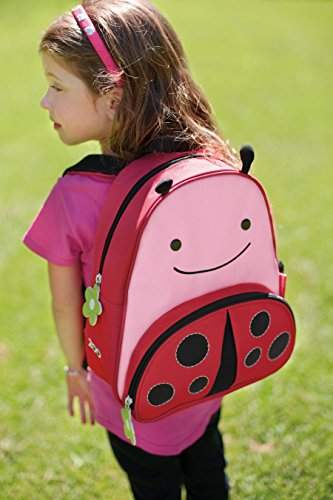 Skip Hop Zoo Little Kid and Toddler Backpack, Livie Ladybug