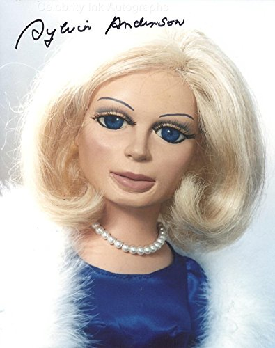 SYLVIA ANDERSON as The Voice Of Lady Penelope - Thunderbirds GENUINE AUTOGRAPH