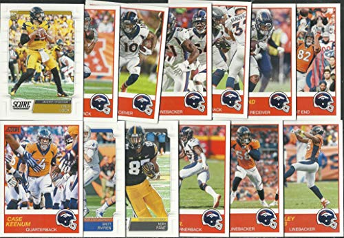 2019 Panini Score Football Denver Broncos Team Set 13 Cards W/Drafted Rookies ()
