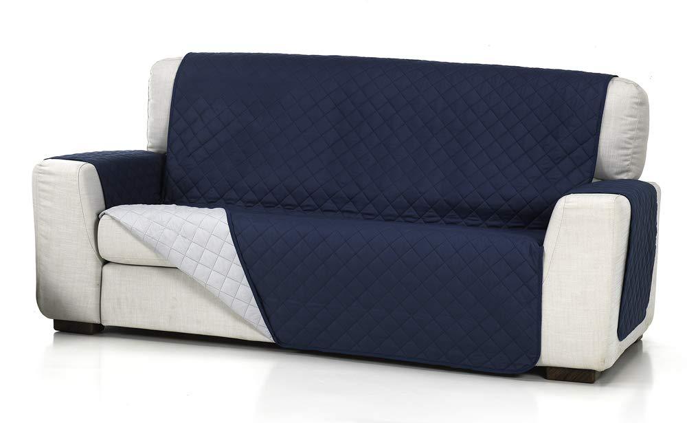 Belmarti Cubre Sofa Acolchado 2/P, Gris Claro, 2 Plazas ...