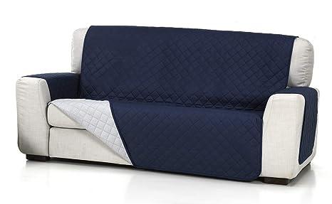 Belmarti Cubre Sofa Acolchado 4/P, Azul, 4 Plazas: Amazon.es ...