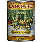 Labonté Pure Medium Maple Syrup 540 Milliliter