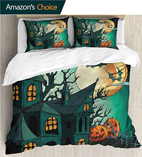 VROSELV-HOME 3D Bedding Quilt Set,Box Stitched,Soft,Breathable,Hypoallergenic,Fade Resistant Decorative