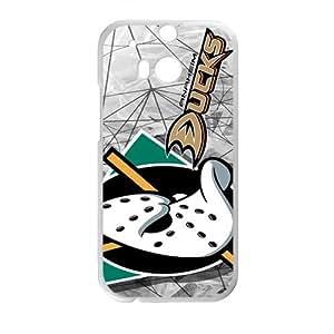 Happy Anaheim Ducks Phone Case for HTC One M8