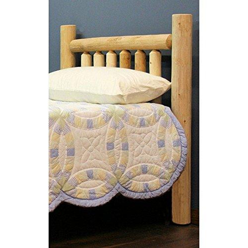 Lakeland Mills Frontier Post Headboard Bedroom Cedar Headboard