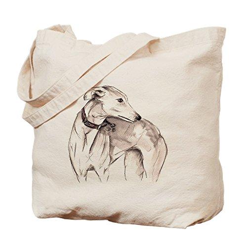 Tote Bag Natural Greyhound CafePress Shopping Cloth Lurcher Bag Canvas FXvIX7wq