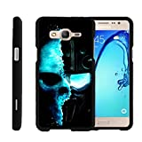 Miniturtle [Samsung Galaxy On5 Case, Samsung On5 Cover, O5 Black Case][Snap Shell] 2 Piece Design Case, Perfect Fit Hard Rubberized Protector - Demon Cyborg